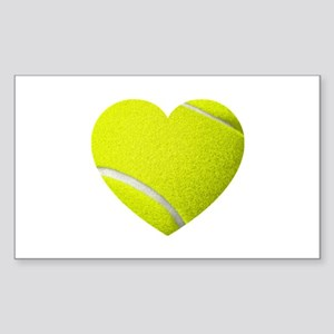 Tennis Heart Sticker